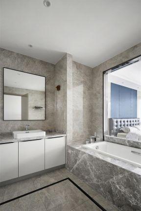 衛生間浴缸裝修圖片 簡約風格衛生間裝修效果圖