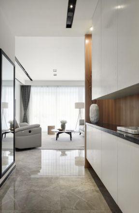 簡約玄關裝修 簡約玄關裝飾效果圖 玄關鞋柜的設計