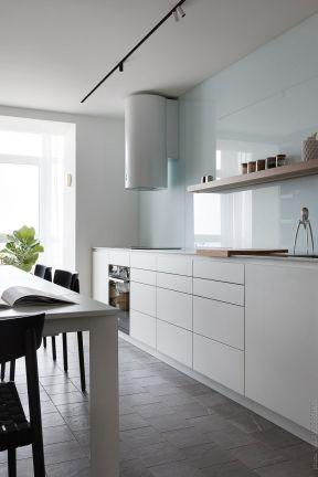 開放式廚房家裝圖片 簡約廚房裝修設計