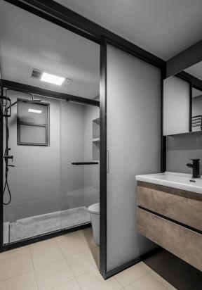 衛生間干濕分離裝修設計 衛生間干濕分離圖片 簡約衛生間裝修圖片