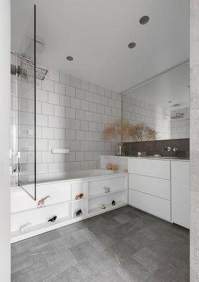 簡約衛生間裝修 衛生間浴缸效果圖