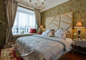 臥室飄窗設計圖片 新古典風格臥室裝修效果圖