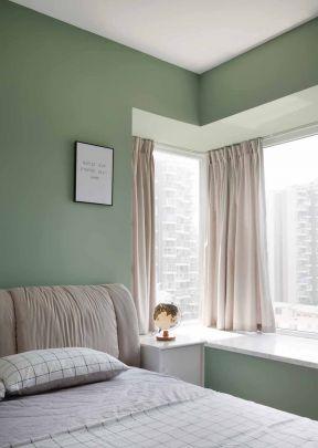 臥室飄窗窗簾圖片大全 臥室飄窗圖片