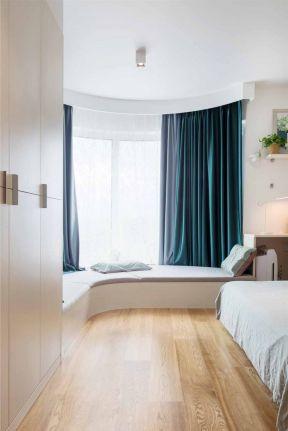 臥室飄窗設計效果圖大全 臥室飄窗設計圖片 弧形飄窗效果圖