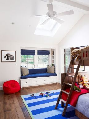 兒童房飄窗裝修效果圖大全  兒童房飄窗設計圖