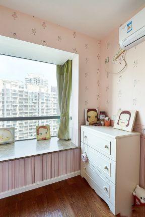 兒童房飄窗設計 兒童房飄窗裝修效果圖大全