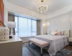 臥室飄窗簾裝修效果圖 輕奢臥室裝修效果圖