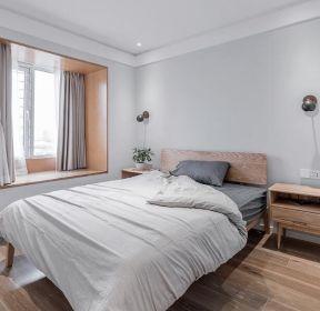 簡約宜家風格臥室飄窗裝修設計圖-每日推薦