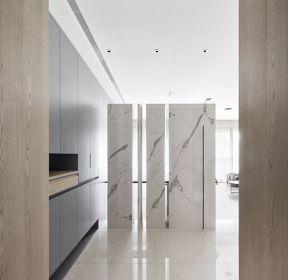 160平大戶型進門玄關隔斷裝修設計圖片-每日推薦