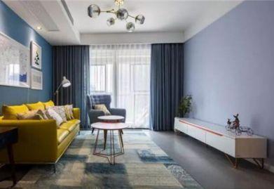 瑞安装饰公司分享:简约ballbet贝博网站风格效果图 清爽舒适的96平温馨之家