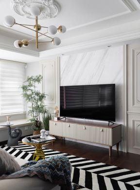 客廳電視柜效果圖大全 法式客廳裝修圖片