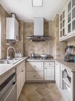 美式廚房家裝設計 美式廚房櫥柜效果圖