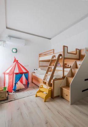 兒童房高低床裝修效果圖 兒童房多功能設計