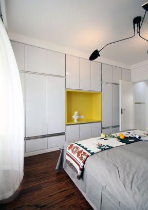 臥室壁柜裝修效果圖  簡約臥室裝修風格