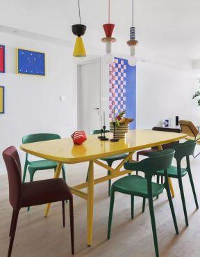 混搭餐廳圖片 混搭餐廳裝修 餐廳顏色裝修效果圖