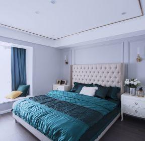 輕奢風格房子主臥室裝修裝潢效果圖-每日推薦