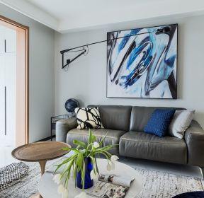 108平現代房子客廳沙發背景墻裝修圖片-每日推薦