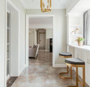 美式輕奢大戶型房子吧臺區裝修效果圖-每日推薦