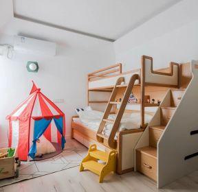 125平房子兒童房高低床裝修設計效果圖-每日推薦