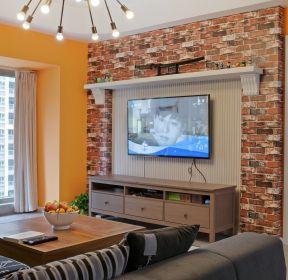 混搭風格房子客廳電視柜裝修效果圖大全-每日推薦