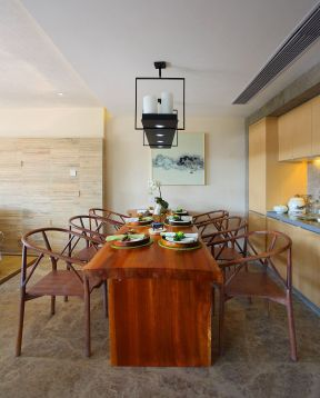 現代中式餐廳效果圖 現代中式餐廳裝修 現代中式餐廳裝修圖