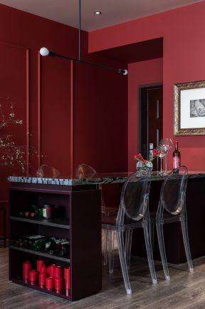 家庭餐廳裝修風格 家庭餐廳裝修效果圖大全圖片 混搭風格餐廳裝修