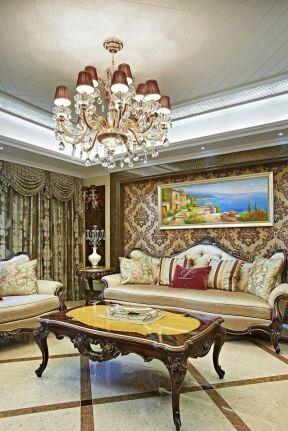 歐式別墅客廳裝修 歐式別墅客廳裝修效果圖片大全 歐式別墅客廳裝修圖片