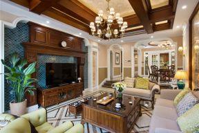 別墅客廳裝修設計圖 客廳電視柜裝修效果圖大全
