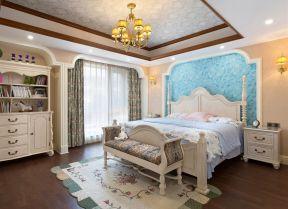 別墅臥室裝修 歐式臥室效果圖大全
