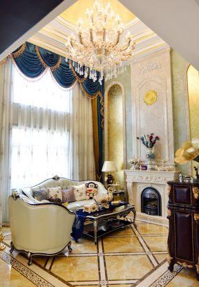 別墅客廳窗簾效果圖大全 別墅客廳裝修設計 別墅客廳裝修圖片
