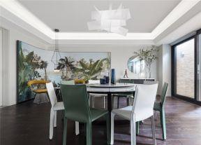 別墅餐廳背景墻效果圖 別墅餐廳設計 別墅餐廳裝潢