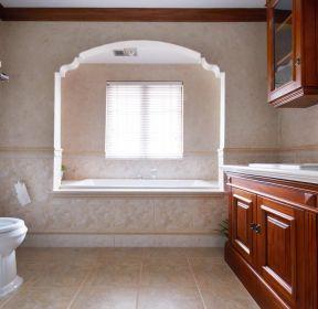 美式別墅衛浴間裝修設計效果圖-每日推薦