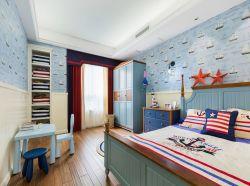 130平新房兒童房墻面壁紙裝飾圖片
