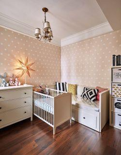 128平四居室兒童房壁紙裝修效果圖