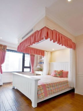 兒童房裝修效果圖大全圖片 床幔效果圖