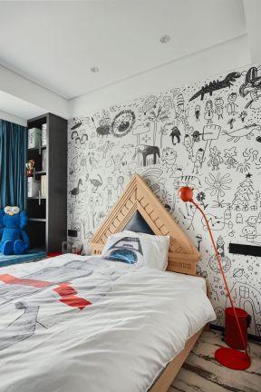 兒童房裝修設計圖片 簡約風格兒童房裝修效果圖