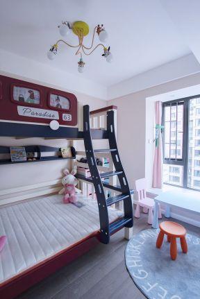 兒童房室內設計圖 兒童房室內效果圖 兒童房高低床設計圖片