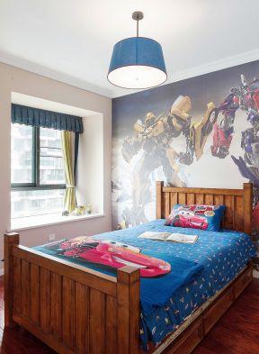 兒童房設計效果圖大全 兒童房背景墻裝修效果圖