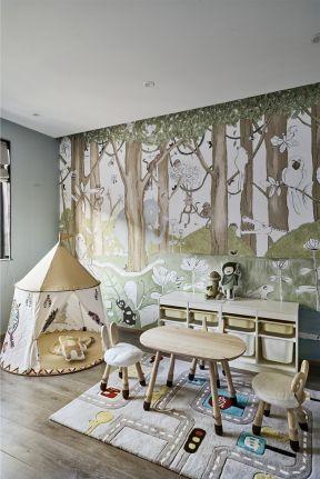 兒童房設計欣賞 兒童房墻紙效果圖