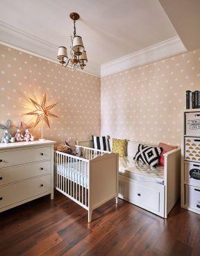 兒童房壁紙貼圖 兒童房壁紙裝修效果圖 兒童房間裝飾設計