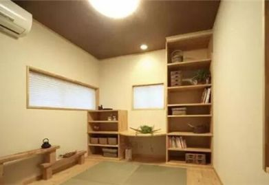 樂清裝修網:日式裝修樣板間實景圖 簡約質樸的禪意之家
