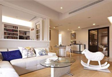 樂清裝修公司分享:現代簡歐裝修樣板間 15萬打造120平簡歐溫馨居所