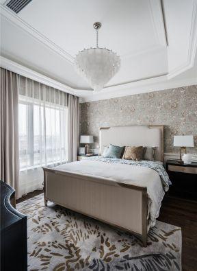 輕奢臥室效果圖 臥室背景墻裝修設計 臥室背景墻裝飾設計圖
