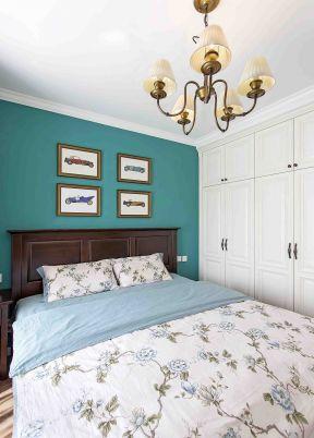 美式臥室背景墻裝修效果圖 美式臥室風格