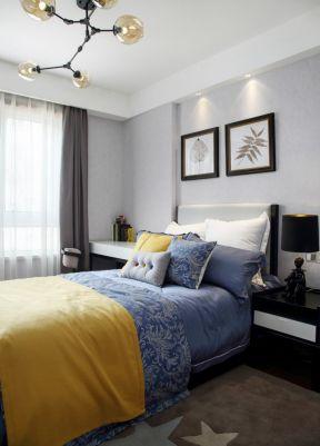 現代臥室裝修 現代臥室效果圖 臥室背景墻設計