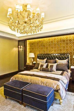 新古典臥室背景墻裝修效果圖 新古典臥室裝修圖片 新古典臥室裝修