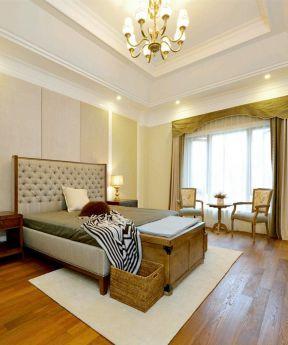 美式臥室裝潢效果圖 美式臥室裝修圖片 美式臥室裝修