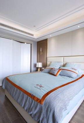 臥室設計效果圖片 輕奢風格臥室裝修圖片