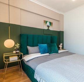 精裝房臥室床頭背景墻色彩搭配圖片-每日推薦