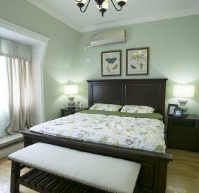 美式臥室床尾凳裝修設計效果圖片-每日推薦
